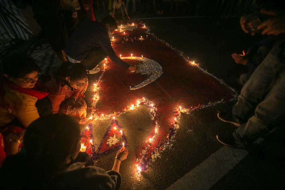संविधान संशोधन विधेयक सर्वसम्मतिले पारित : नयाँ नक्साको स्वागतमा दीपावली