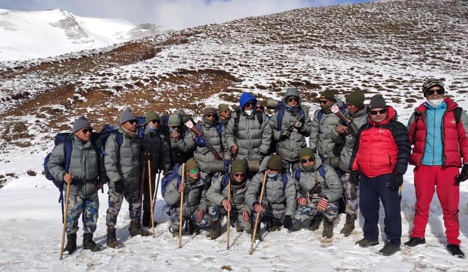 नेपाल र चीनको सिमाना हिल्सामा सशस्त्रको बिओपी स्थापना