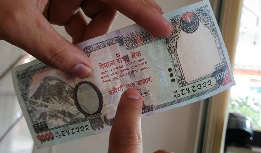 कञ्चनपुरबाट नक्कली नोट र नोट बनाउने सामाग्री सहित दुई जना पक्राउ