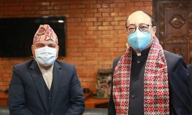 काठमाडौंमा भारतीय विदेश सचिव  श्रृंगला : आजै उच्चस्तरीय भेटघाट गर्ने