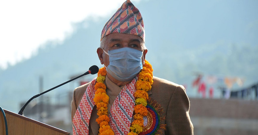 केपी ओली लोकतन्त्रका लागि होइन, ज्यान मुद्दामा जेल परेका हुन् : रामचन्द्र पौडेल