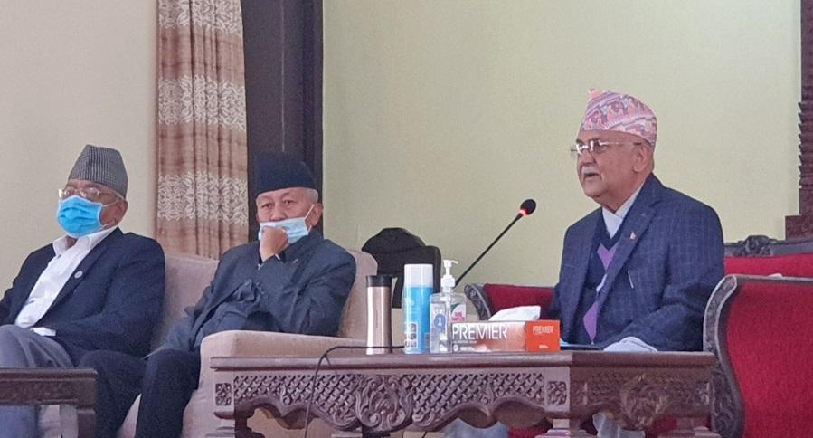 नेपाल र रावलसहित पाँच जनालाई स्पष्टीकरण सोध्ने एमाले संसदीय दलको निर्णय