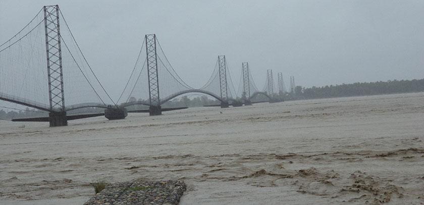महाकाली नदीको तटीय क्षेत्रमा बाढीको उच्च जोखिम, सतर्क रहन प्रशासनको अनुरोध