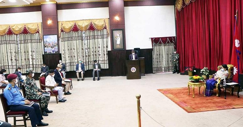 आलंकारिक राष्ट्रपतिको 'अस्वाभाविक' सक्रियता