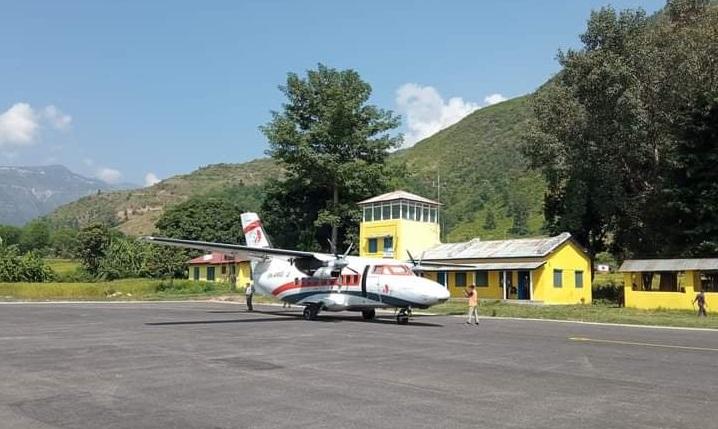 दिपायल धनगढी हवाई उडान मंगलबारबाट पुनः सञ्चालनमा आउने